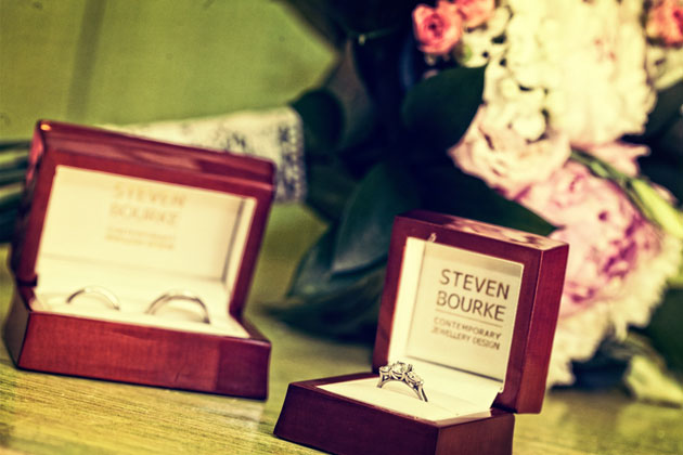 Steven Bourke wedding rings