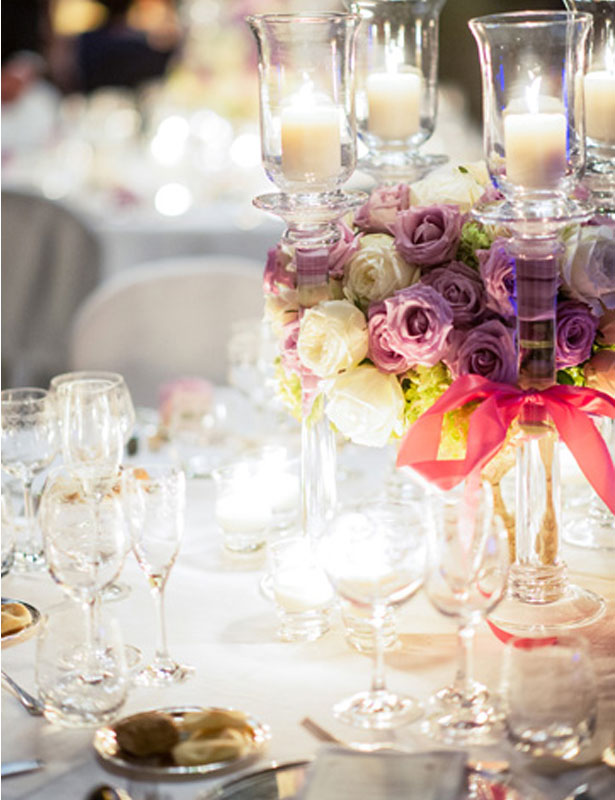 Vintage inspired table setting