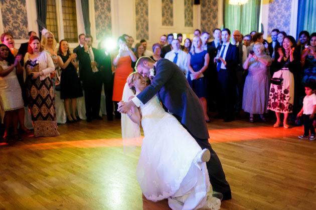 The first dance to the sound of settling by Death cab for cutie.