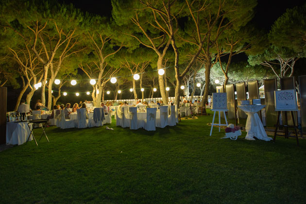 Evening reception at the Sheraton Hotel, Algarve