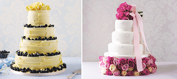 Round Tier Wedding Cakes
