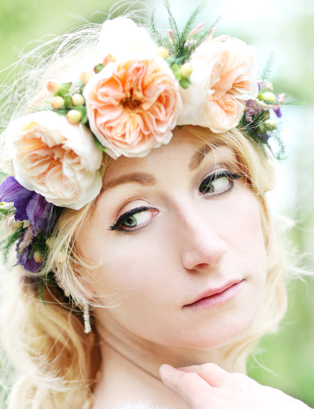 The Bespoke Florist Flower Crown
