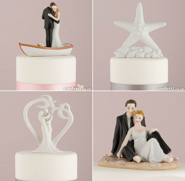 Beach Cake Toppers
