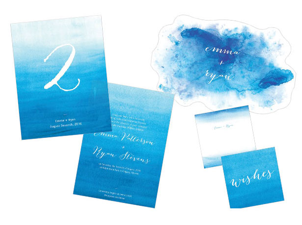 Aqueous Stationery Collection