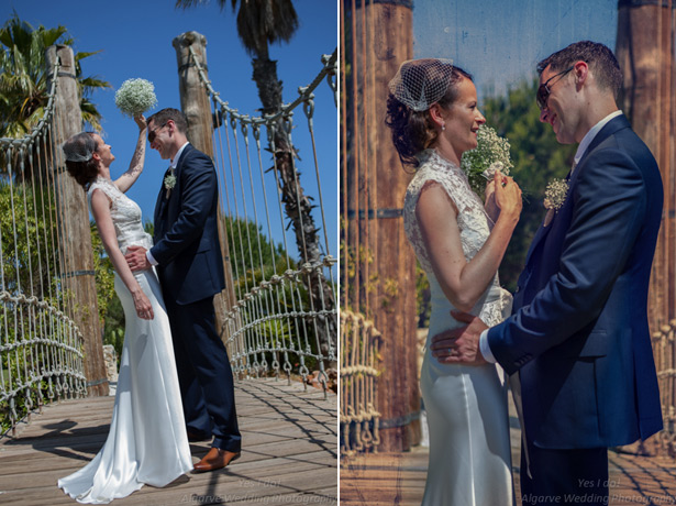 The official wedding portrait by Yes I do Algarve Photography