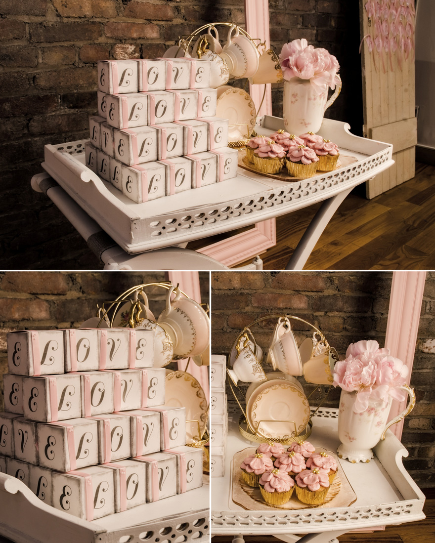 Afternoon Tea Decor Romantic Antique Pink Tea Party | Confetti.co.uk