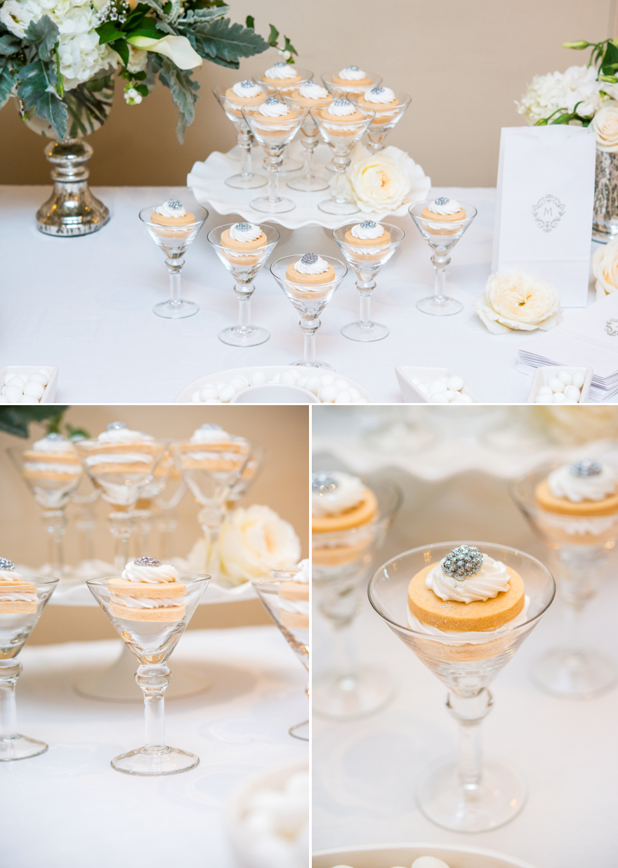 Cupcakes in Martini Glasses Unique Wedding Favour Idea | Confetti.co.uk