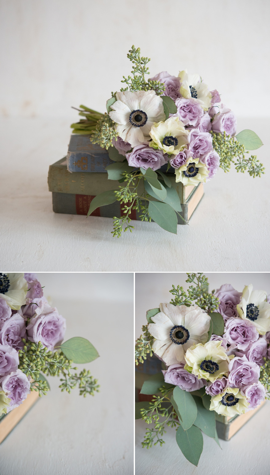 Flowers and Books Centrepiece Idea | Confetti.co.uk