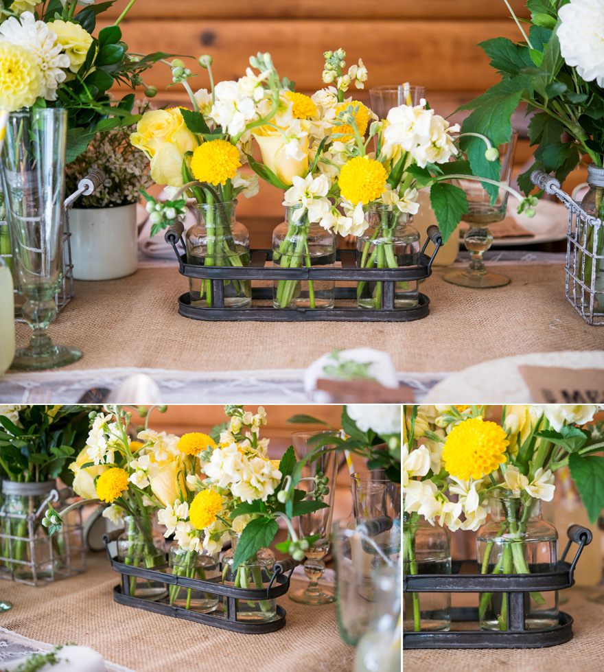 Grey and Yellow Wedding Decor Rustic Wedding Theme | Confetti.co.uk