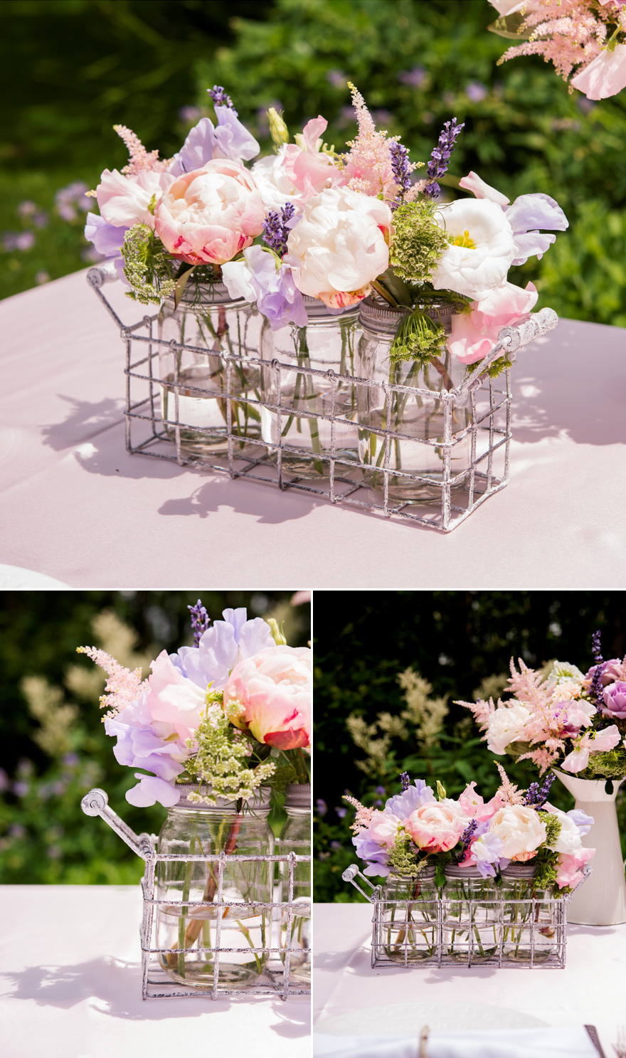 Pastel Wedding Flowers - Garden Party Wedding Theme | Confetti.co.uk