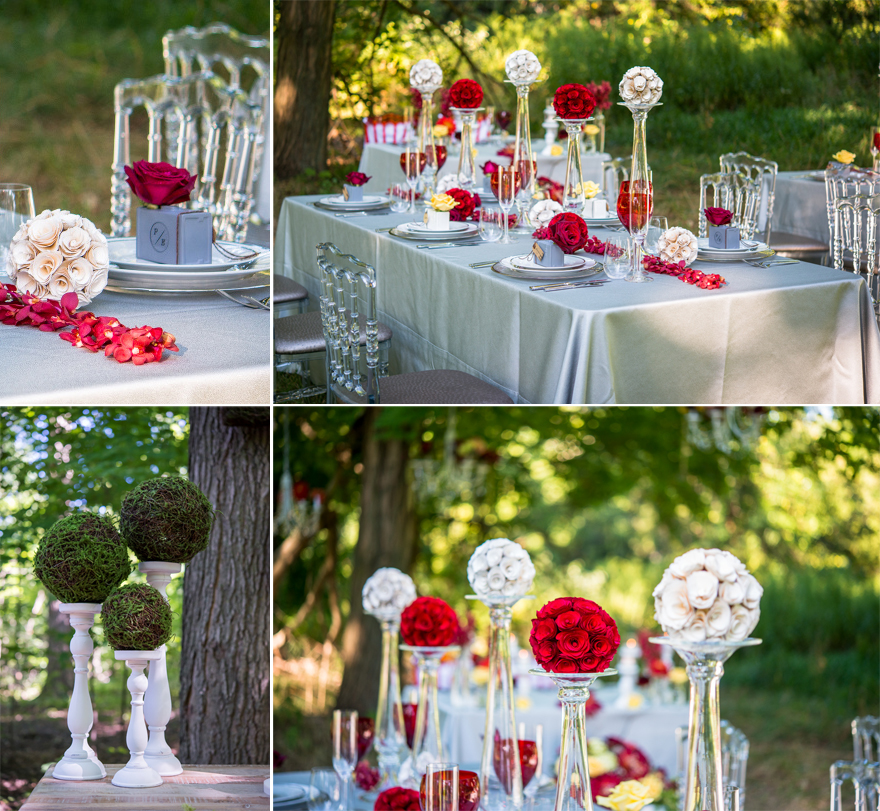 Pomander Outdoor Wedding Table Decor | Confetti.co.uk