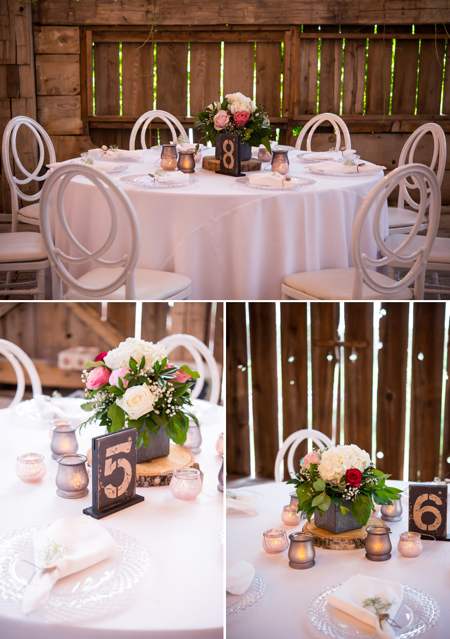 Rustic Shabby Chic Barn Wedding DIY Centrepiece | Confetti.co.uk