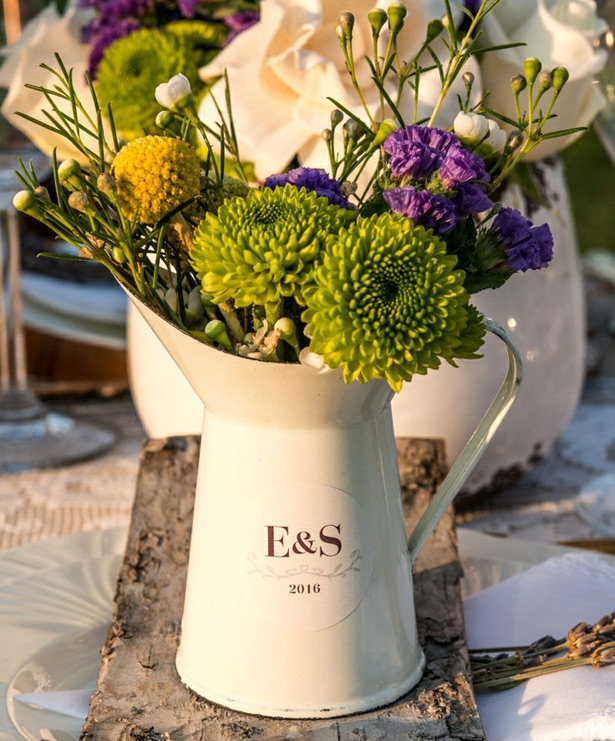 Summer  Jug Centrepieces