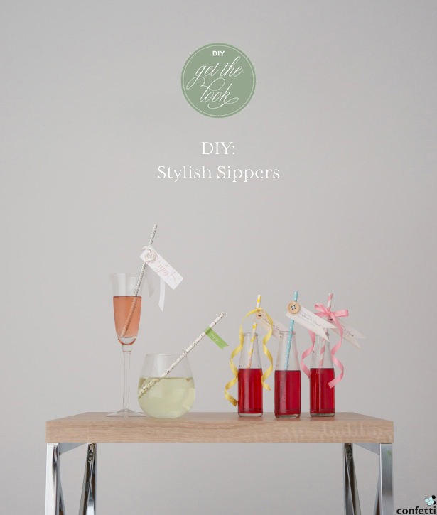 DIY Friday Stylish Sippers | Confetti.co.uk