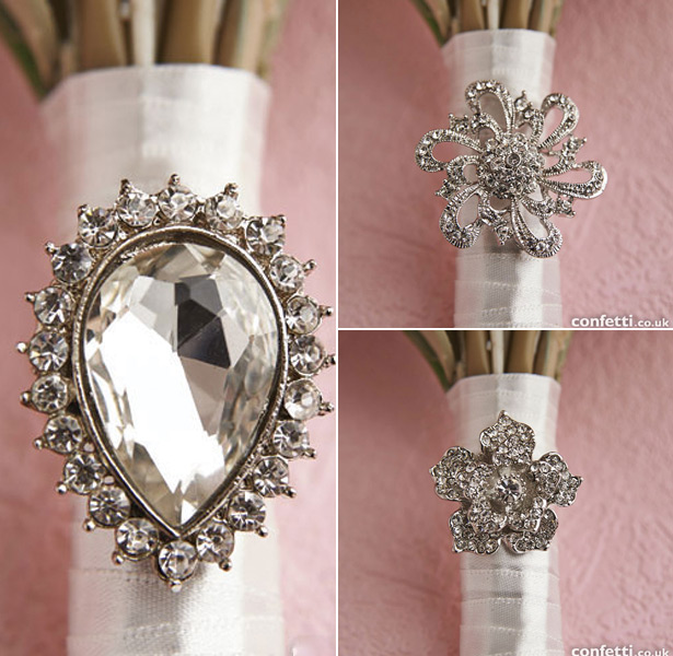 Vintage Brooch for Bouquets