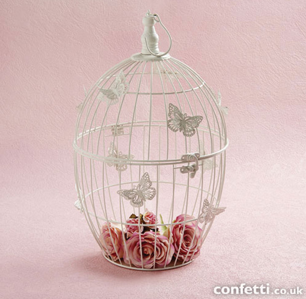 Egg Shaped Butterfly Birdcage
