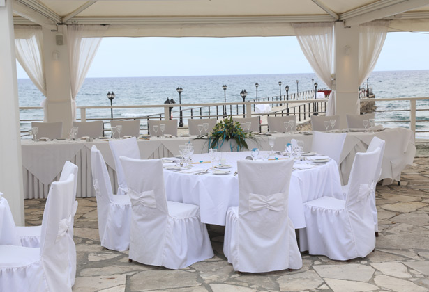 Wedding reception at Blue Paradise