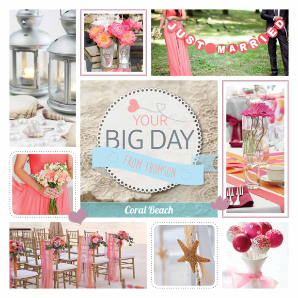 Thompson Be our bride themes coral beach