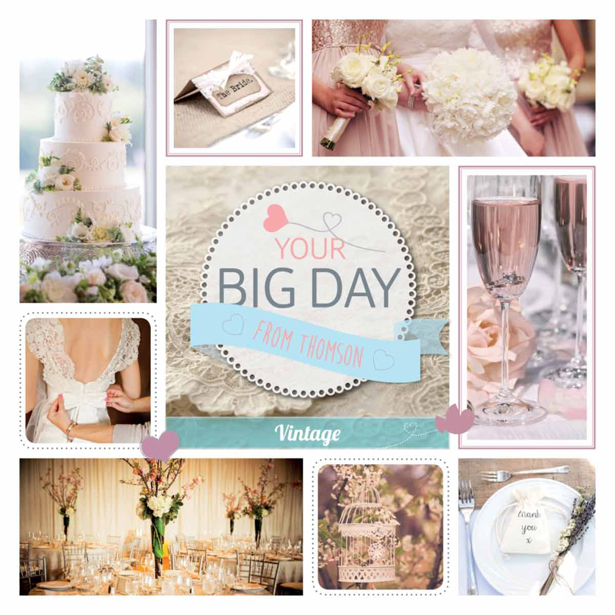 Thompson Be our bride themes vintage