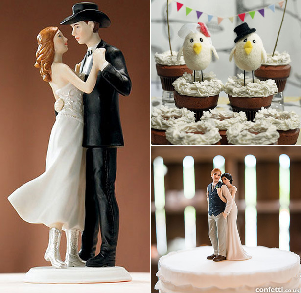 Festival Themed Wedding Cake Topper