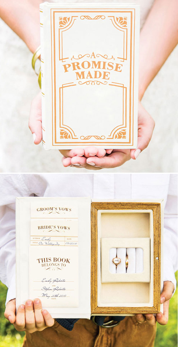 Vintage Jewellery Book Box