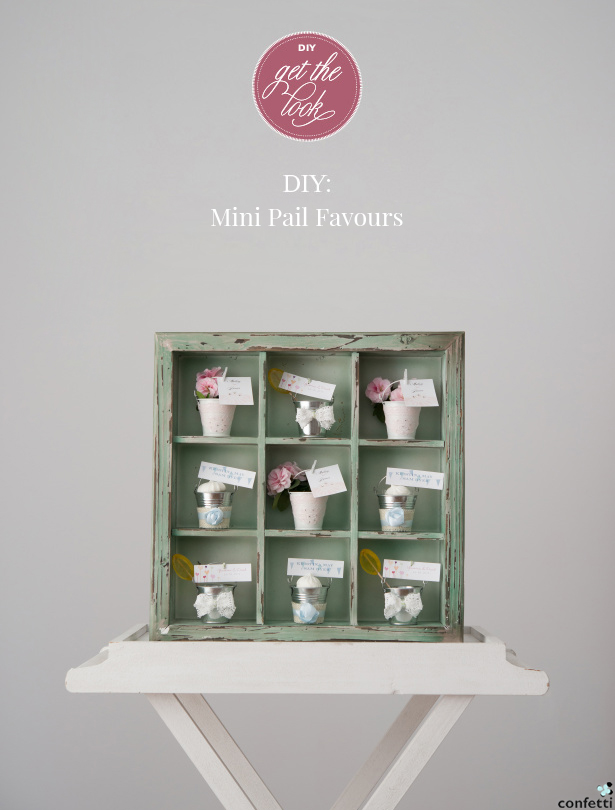 Petite Pails DIY Wedding Favours | Confetti.co.uk