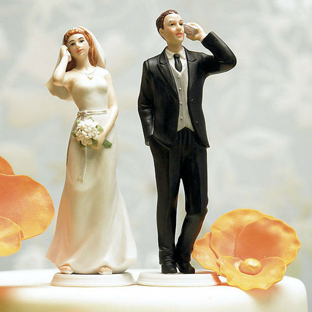 unplugged cake topper