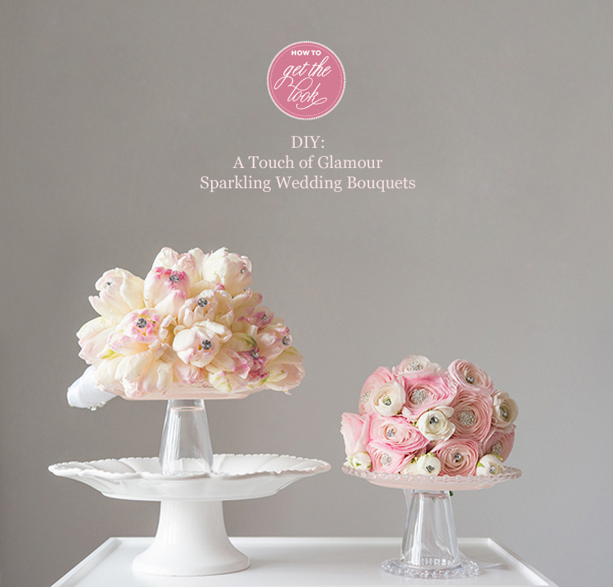 A Touch of Glamour Wedding Flowers | Confetti.co.uk