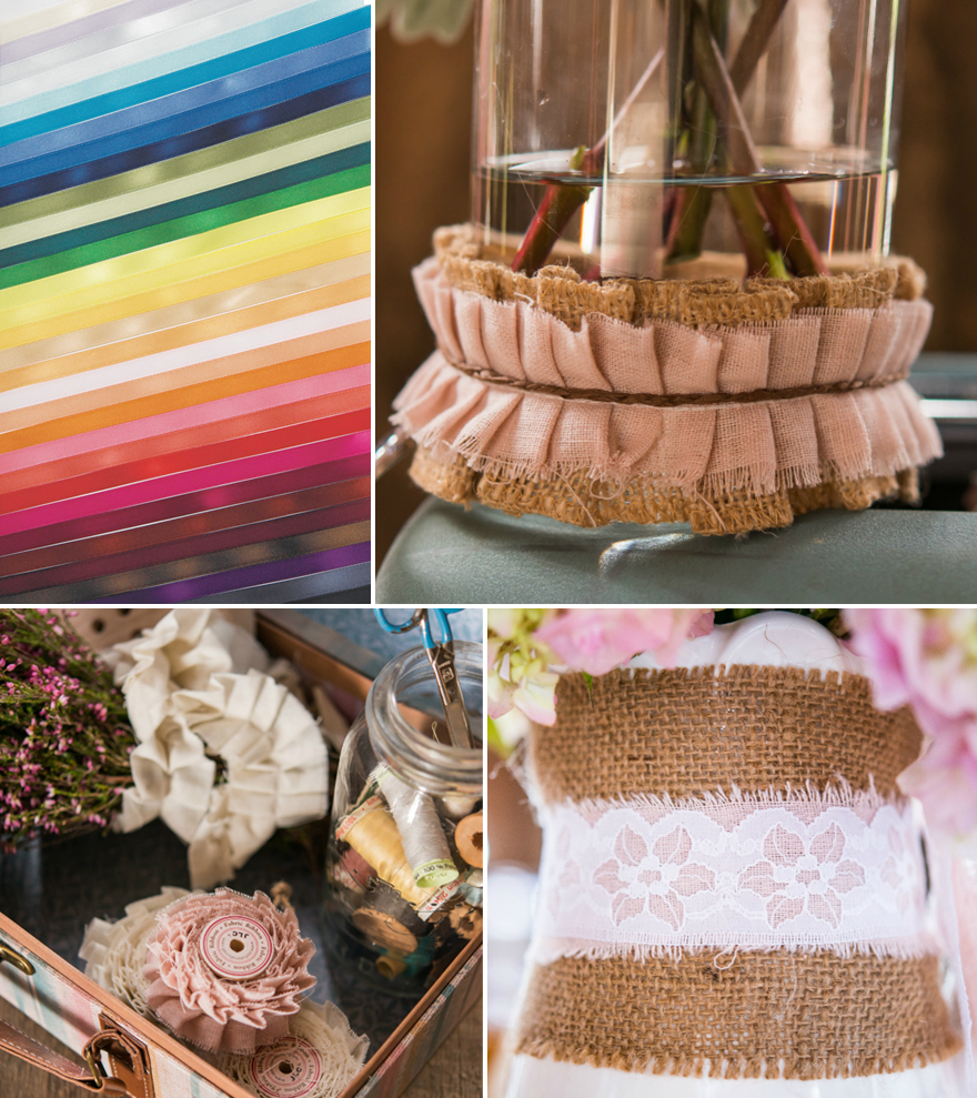 Ribbon and Twine and Fabric | Confetti.co.uk