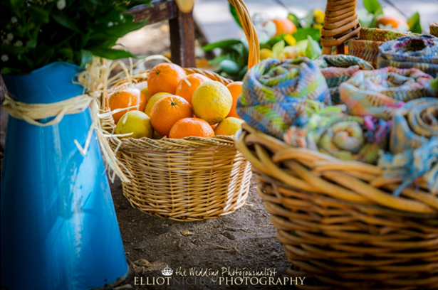 Colourful Wedding Fruit Table