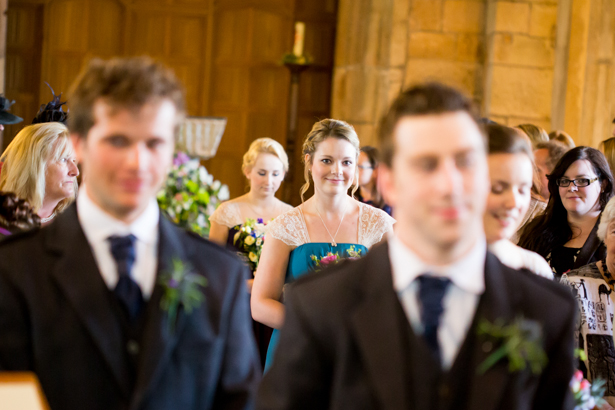 Groom waiting for his bride at the alter | Confetti.co.uk