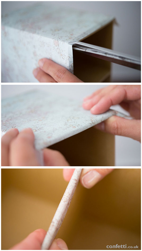 DIY Wedding Friday | Vintage Drawer Tutorial Step by Step Guide | Confetti.co.uk