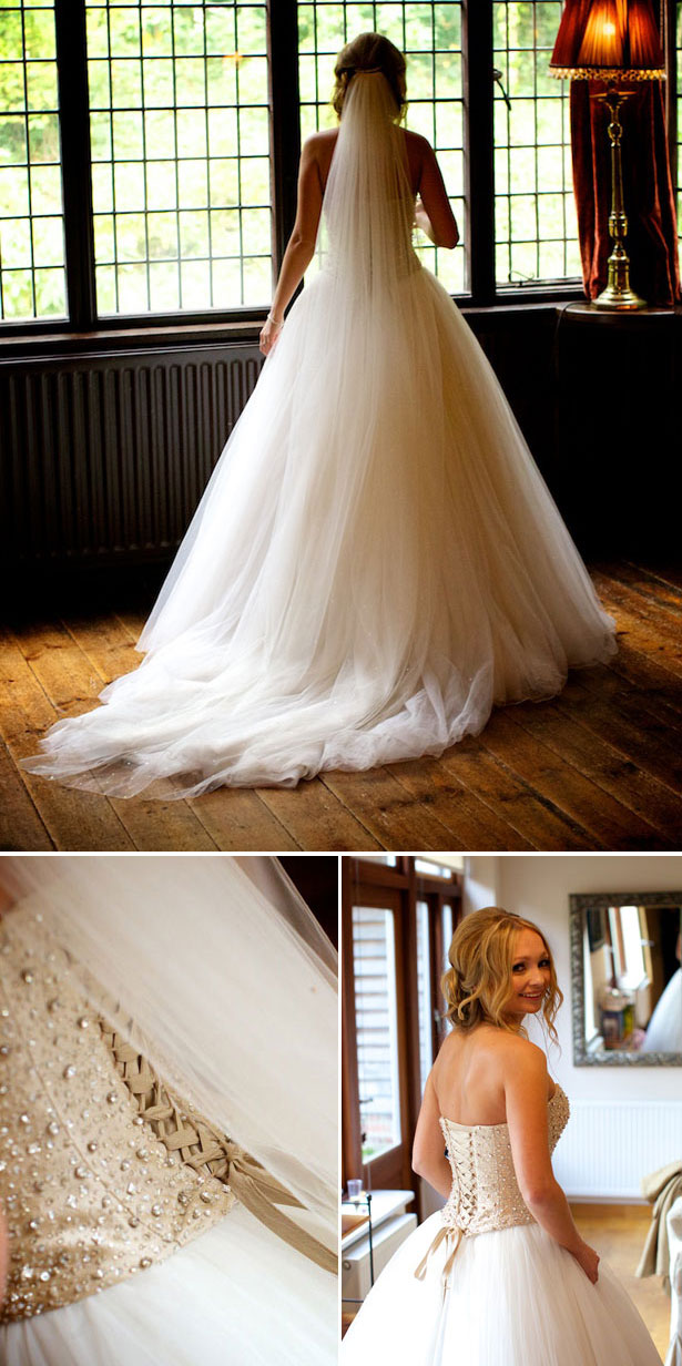Real Bride in Justin Alexander Wedding Dress | Confetti.co.uk