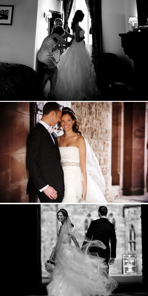 Real Bride in Vera Wang | Confetti.co.uk