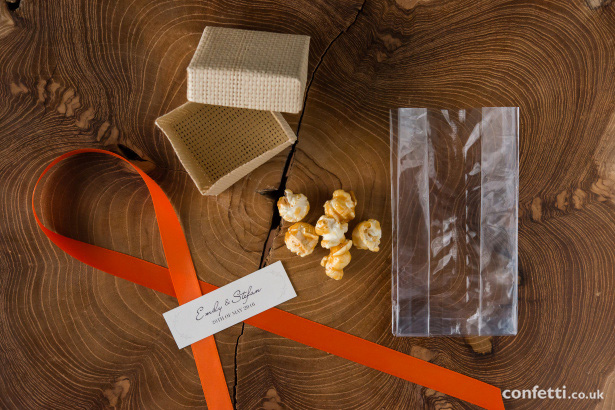 DIY Toffee Popcorn Wedding Favour Supplies from Confetti.co.uk