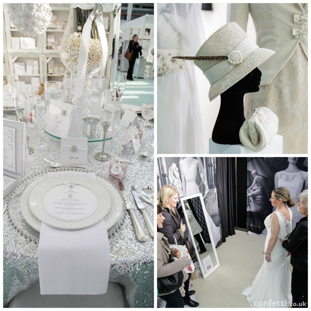 Bridal opportunities at a wedding show from Confetti.co.uk
