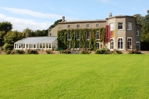 Georgian manor house wedding venue in Somerset, Pennard House.