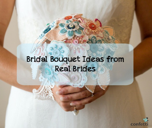 Bridal Bouquet Ideas from Real Brides | Confetti.co.uk