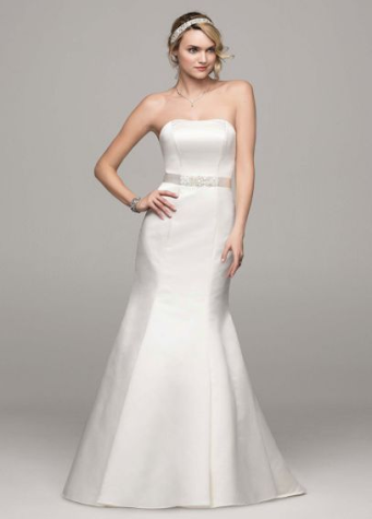 David's Bridal WG9871 under £500 | Confetti.co.uk