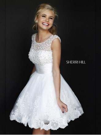 Sherri Hill 4302 by Molly Browns under £500 | Confetti.co.uk