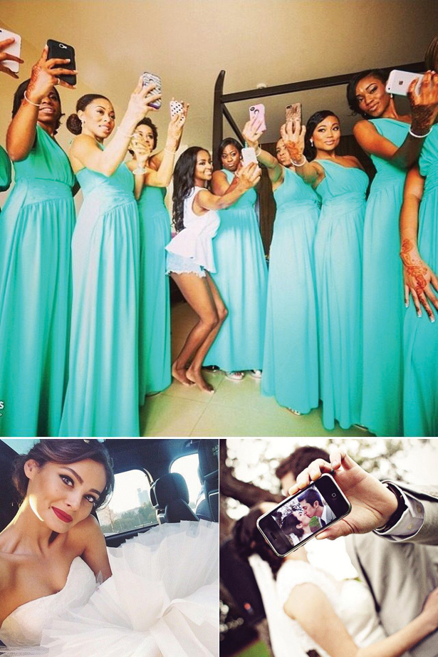 Wedding Worthy Selfie | Selfie with the bridesmaids | Bride selfie | Newlywed Selfie | Confetti.co.uk