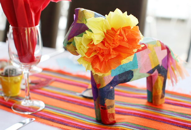 Amazing DIY Ideas From Our Real Weddings | Homemade Mexican wedding decor | Confetti.co.uk