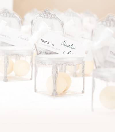 Classic Wedding Favours from Confetti.co.uk