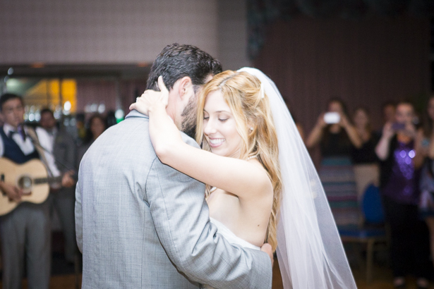 """First dance to """"I just don't think I'll ever get over you"""" by Collin Hay 