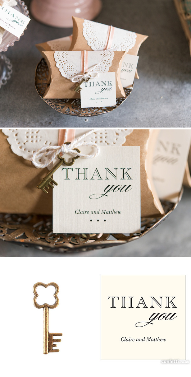 Vintage Wedding Favour Ideas | DIY Doily Wedding Favours | Confetti.co.uk