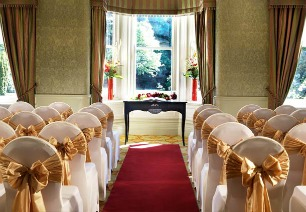 Preston Marriott civil wedding suite