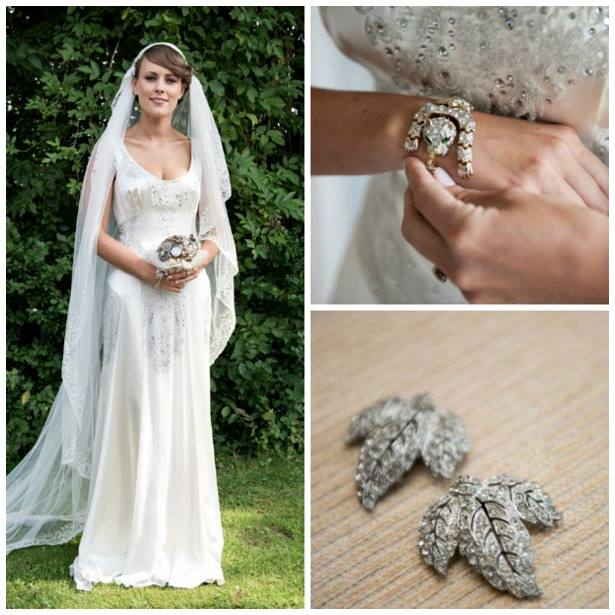 Lucy and Adam's vintage 1930s style real wedding
