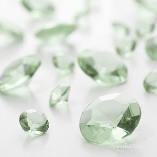 Green table gems