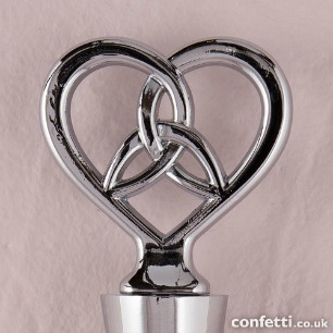 Trinity Love Knot wine bottle stopper