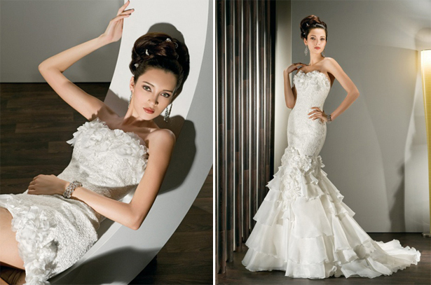 Dress Style 2854 by Demitrios | Confetti.co.uk